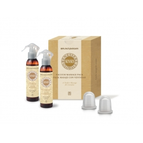 Kit masaj anticelulitic - Vacuum Massage Pack Bruno Vassari