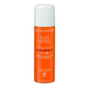 Transparent Sun Spray SPF 25 Bruno Vassari